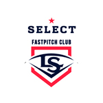 select fast pitch club logo color