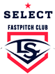 select fastpitch club logo